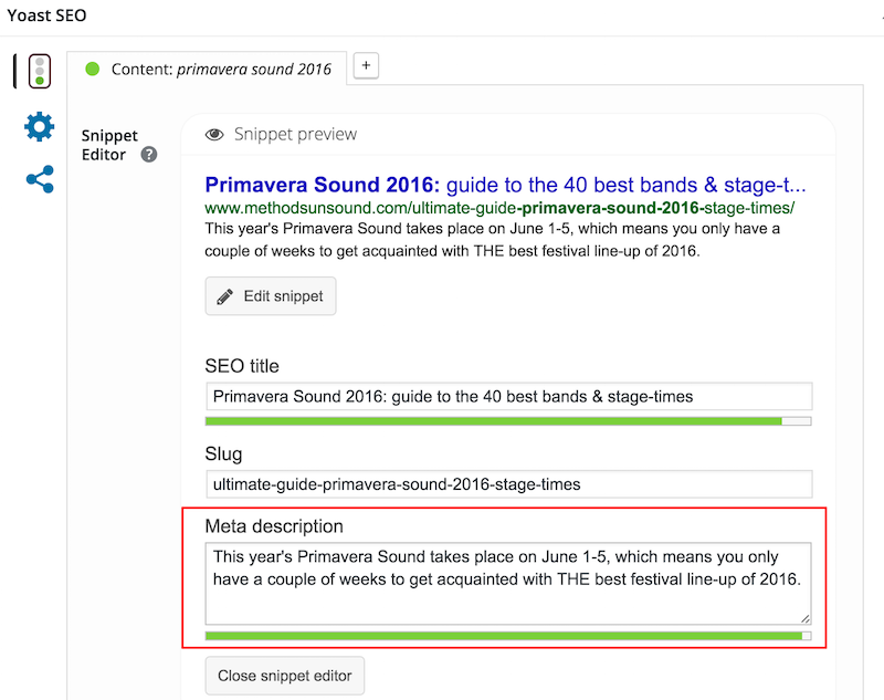 How to write meta descriptions for SEO (with good and bad ...